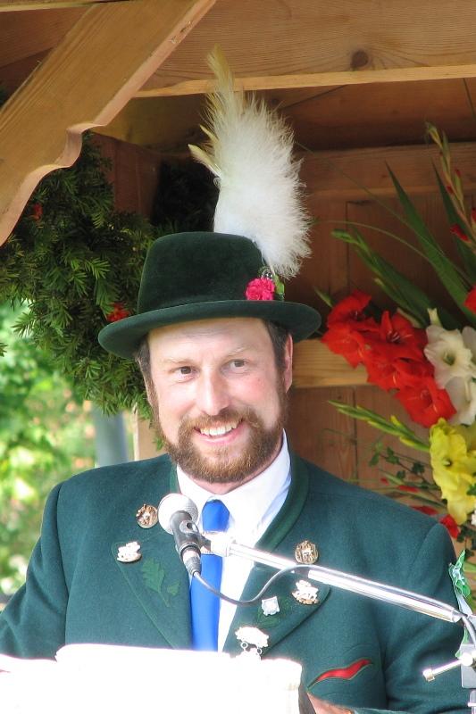 Hochpointner Adolf 1. Vorstand