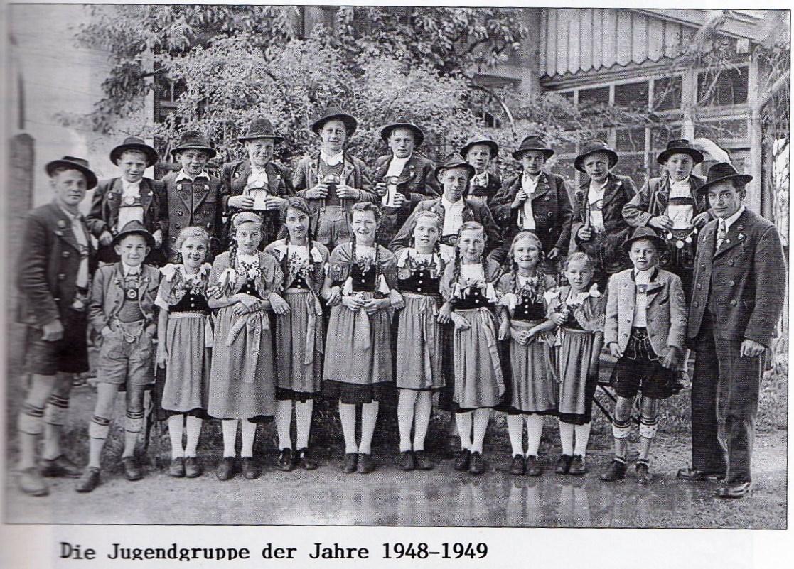 Jugendgruppe 1948-49