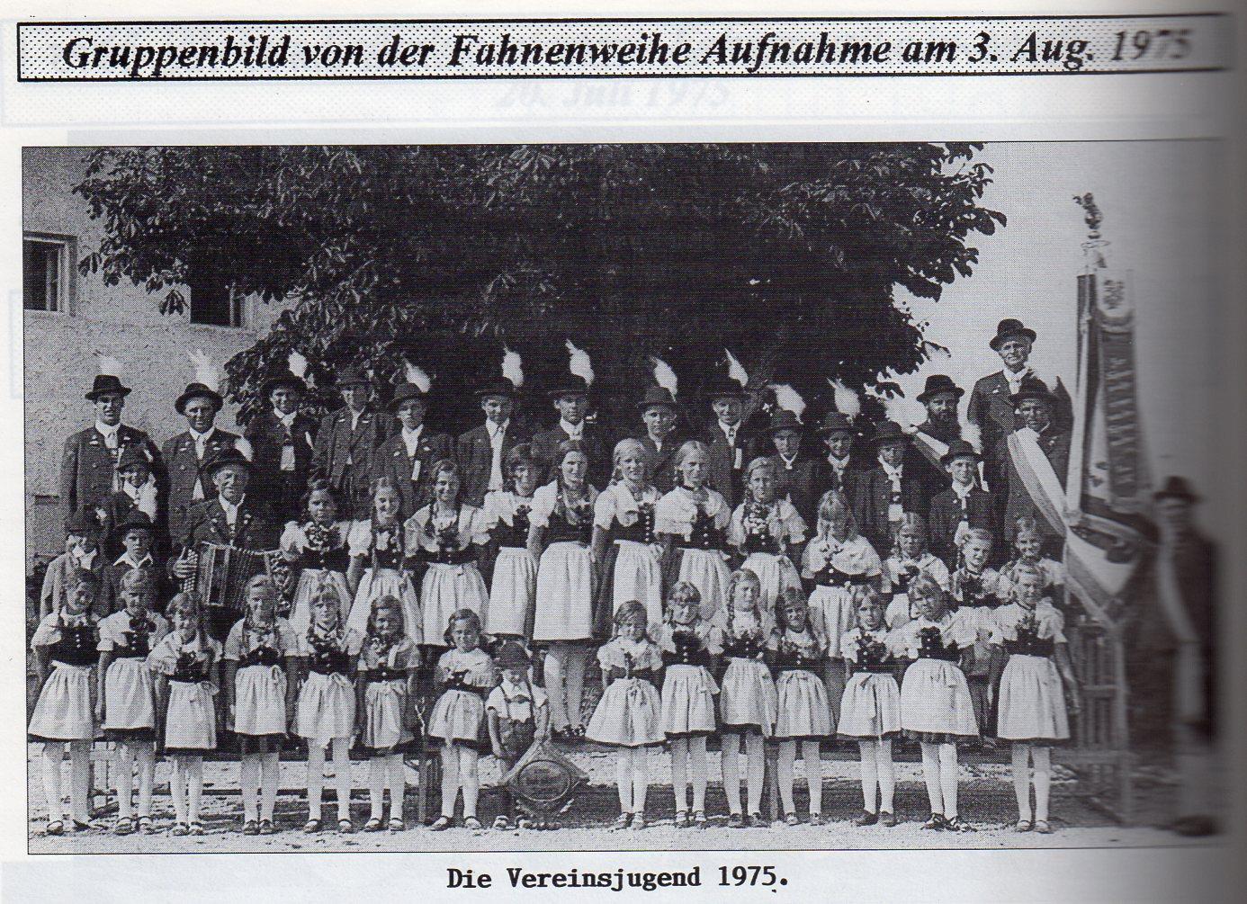 Vereinsjugend 1975